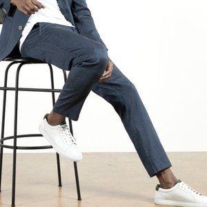 NWT Massimo Dutti Blend Linen Straight Slim Pants